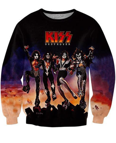 KISS Destroyer Unisex Sweatshirt