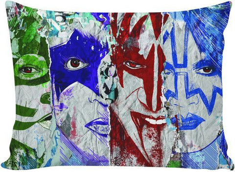 KISS Graffiti Pillowcase - GetRealFunky.com