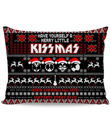 KISS KISSMAS Pillowcase