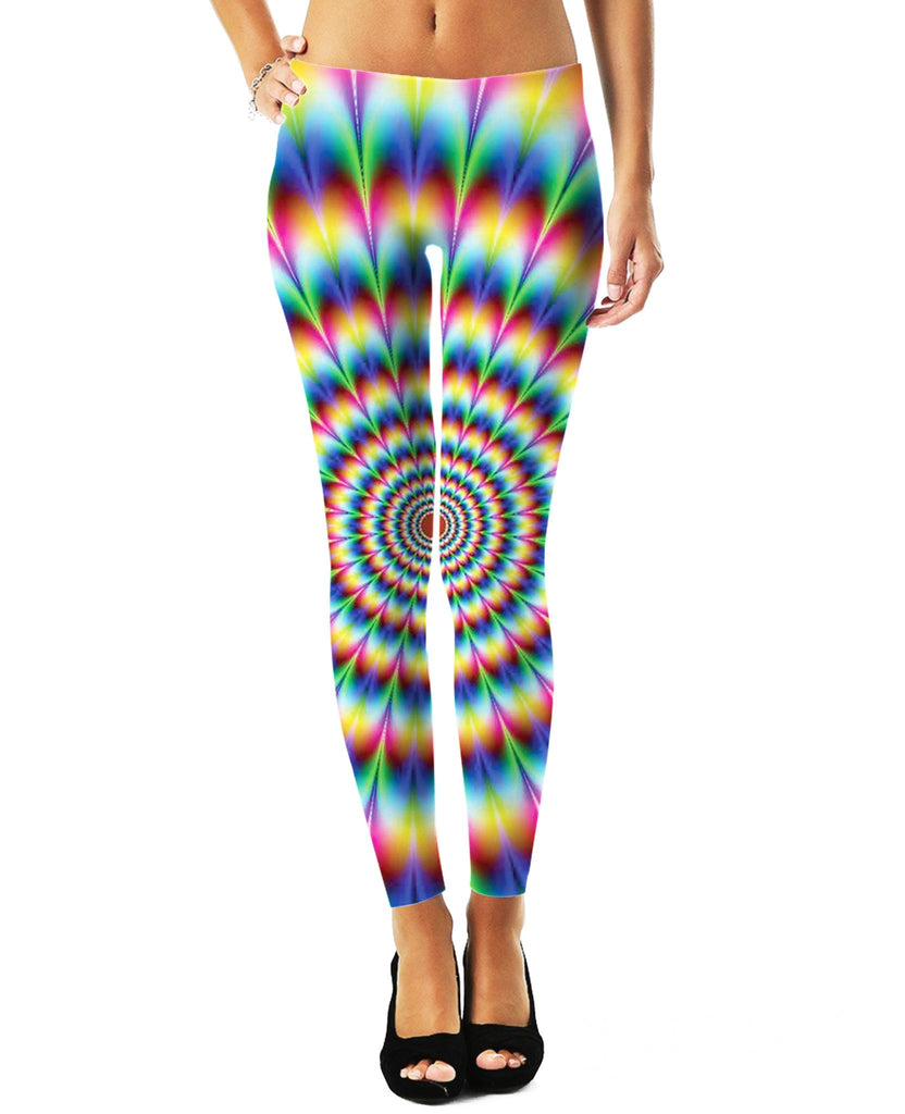 Visit The Rainbow Womens Leggings - GetRealFunky.com