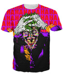 Joker HAHA Pop Art Unisex Tee - Sweet Satisfaction