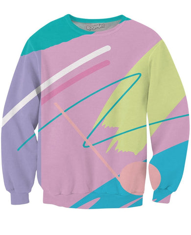 80's Fresh Paint Unisex Sweatshirt