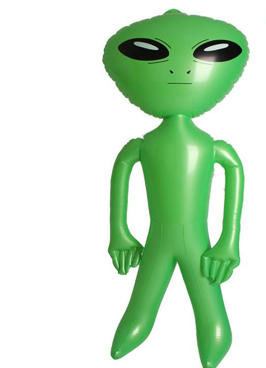 Inflatable Alien - Classic Green