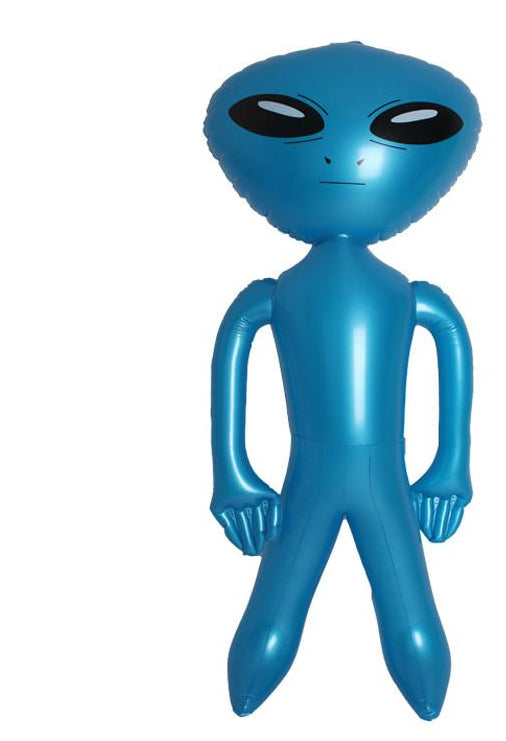 Inflatable Alien - Pluto Blue