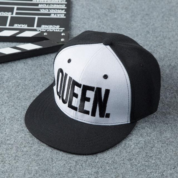 The QUEEN White Edition Snapback Cap - GetRealFunky.com