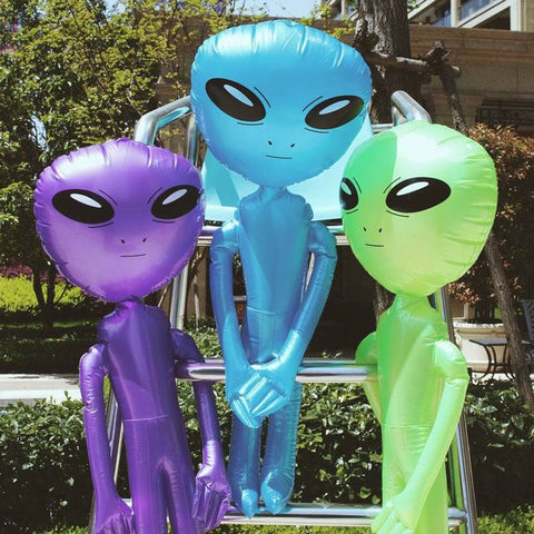 Inflatable Alien - The Team Shot