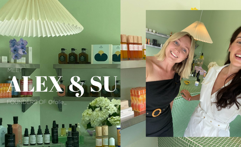 Alex & Su, founders of Foile | Suboo Journal