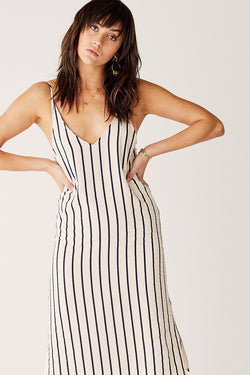 Midi Slip Dress-Stay