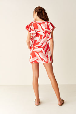 Kaftan - Red Leaf