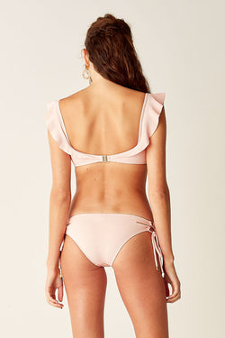 Lace Side Bottoms - Pink