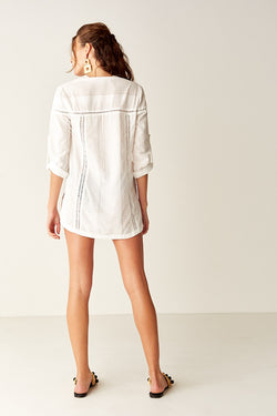 Beach Shirt - WHITE