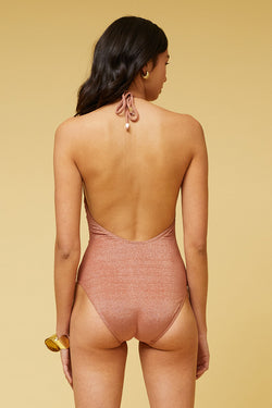 Amber Ring Front One Piece  - Rust