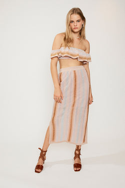 Luella Midi Knit Skirt