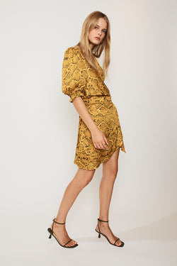 Rae Mini Wrap  Dress