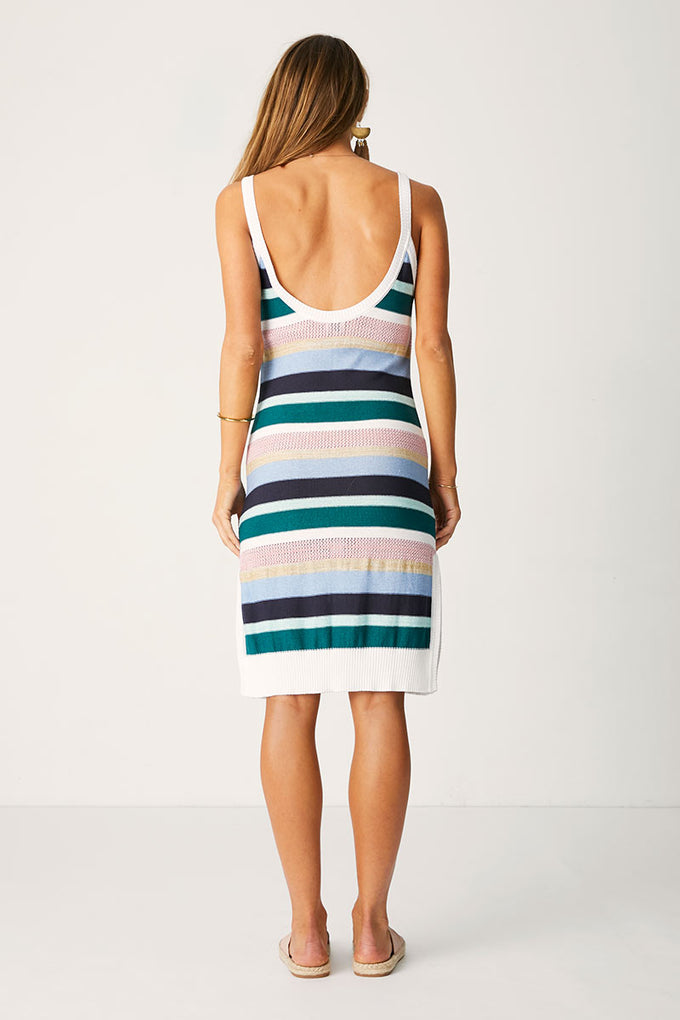 Knit Tank Dress-Paradiso