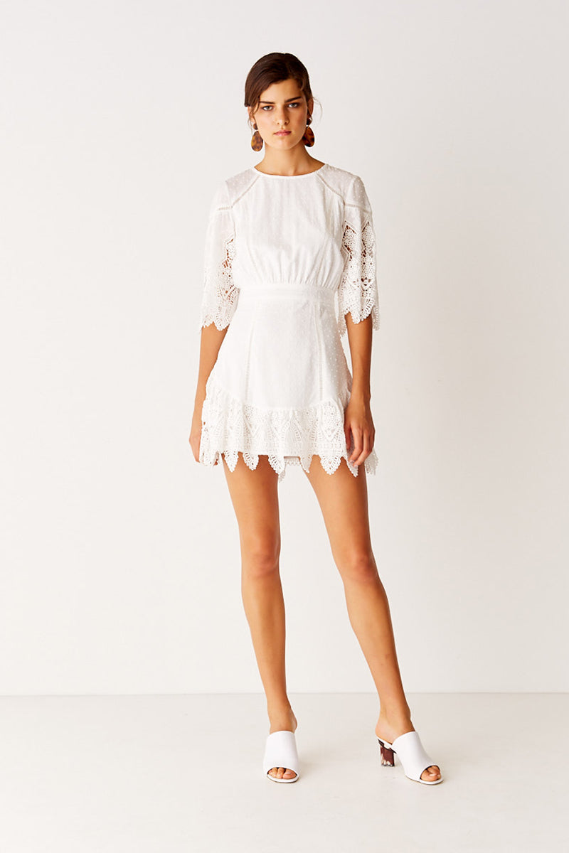 Mini Dress - Off White