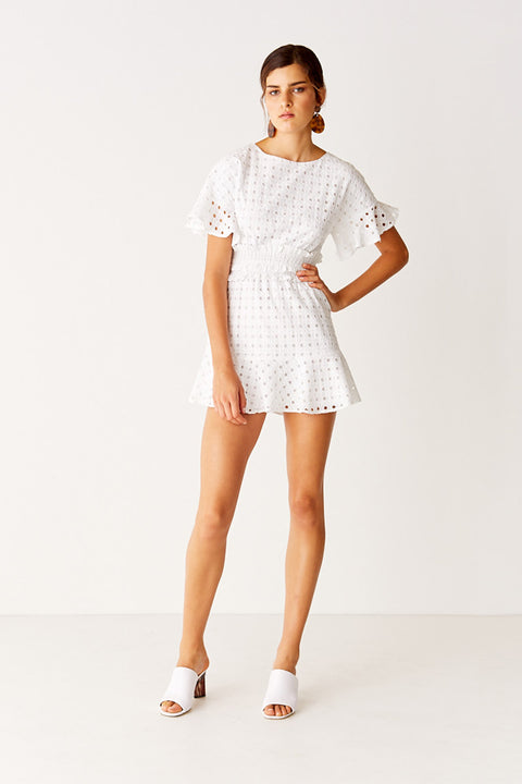 Mini Dress - White