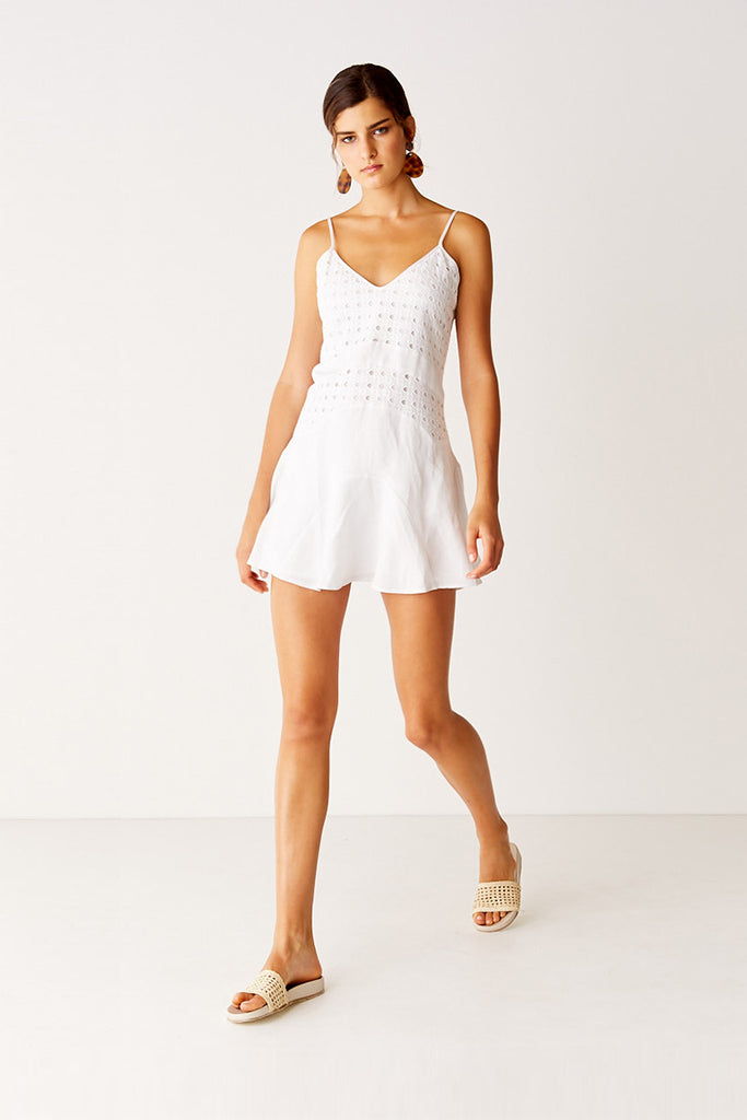 Cami Dress - White