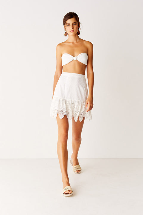 Mini Skirt - Off White