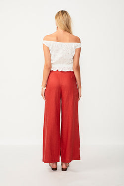 Azalea Off The Shoulder Blouse - White