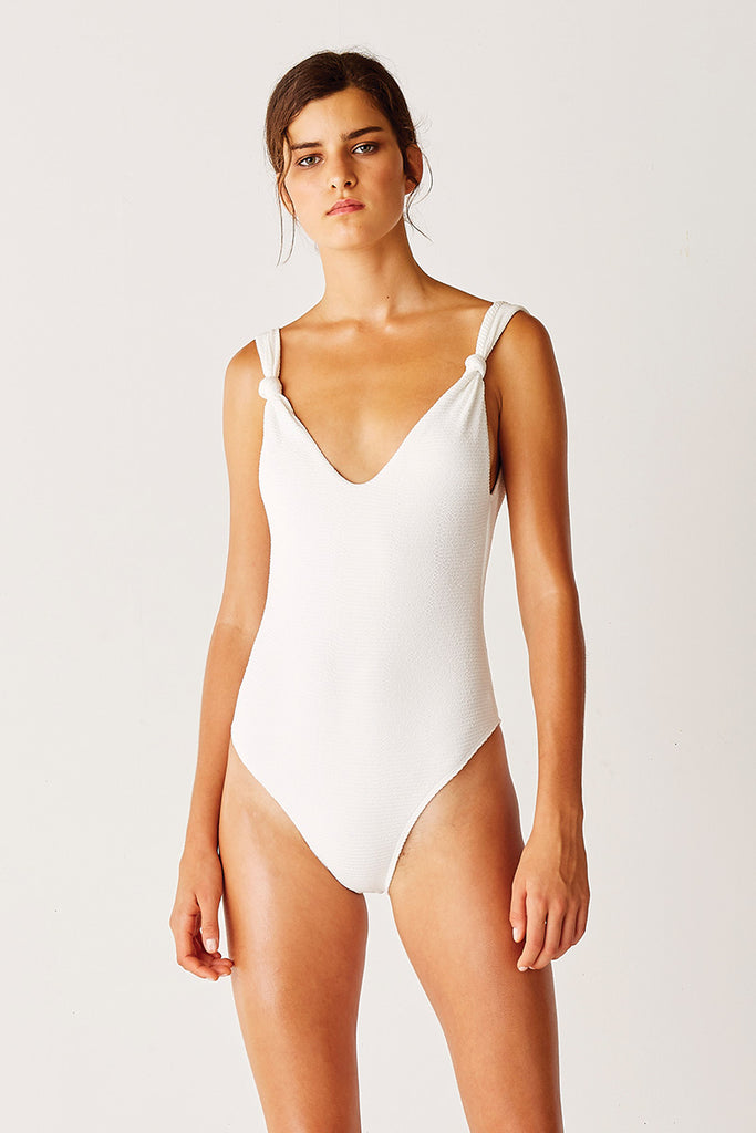 Knot Classic One Piece - WHITE
