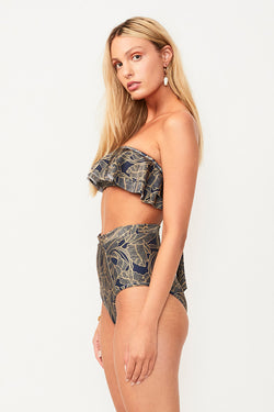 Zephora High Waisted Bottoms - Zephora Print