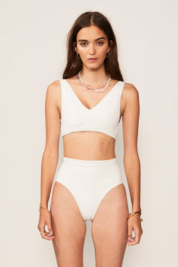 Kaia Panelled High Waisted Bottom