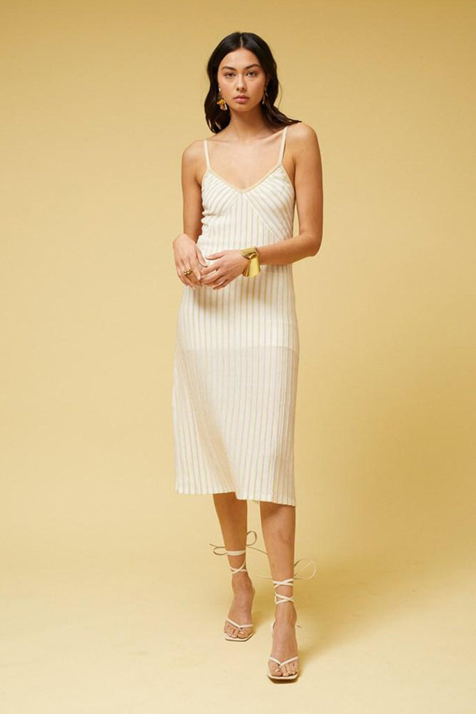 Adele Stripe Slip Dress - PRE-ORDER