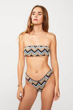 Bella Knitted Bandeau - Multi