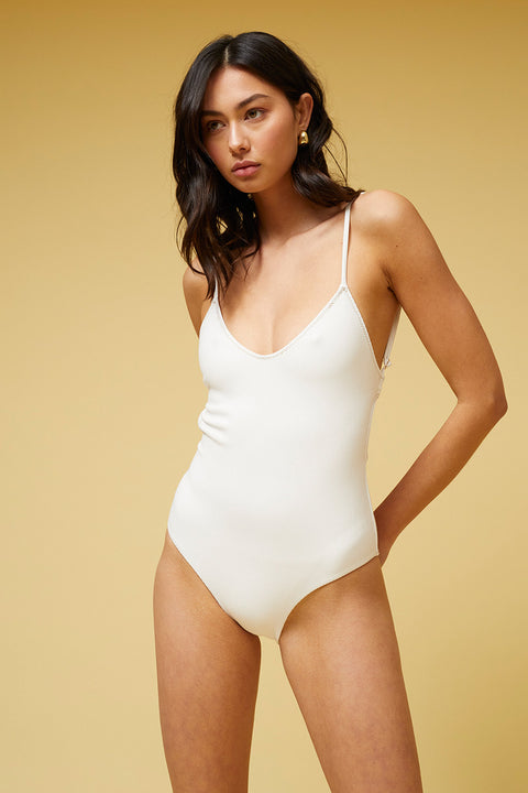 Kaia Scoop One Piece - Ivory