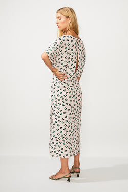 On The Fly Wrap Dress - Multi Print