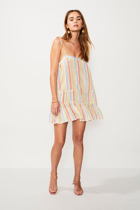 Playhouse Mini Dress - Multi