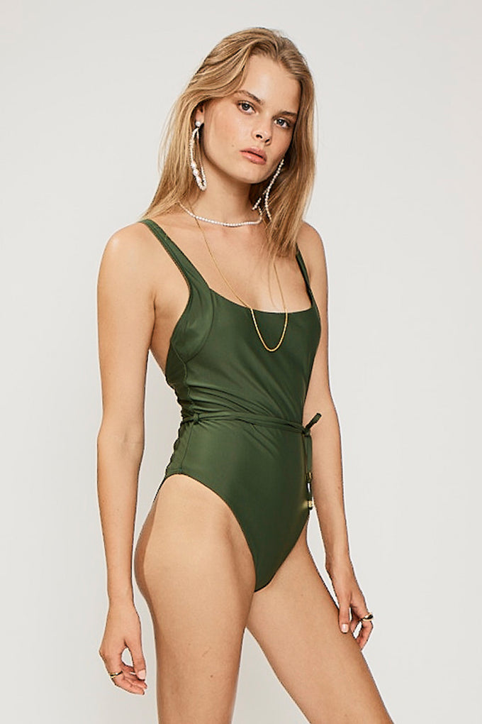 Queenie Square One Piece