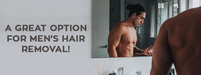 Why The IPL Handset Is a Great Option For Men's Hair Removal!