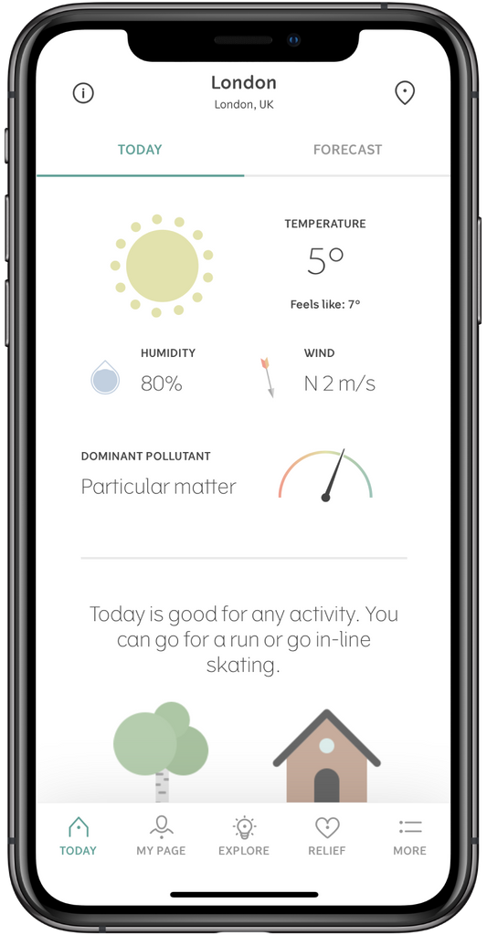 Klara: the smart way to manage your allergy
