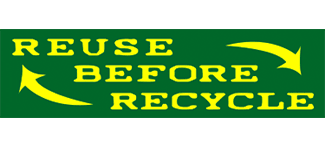 Reuse before Recycle