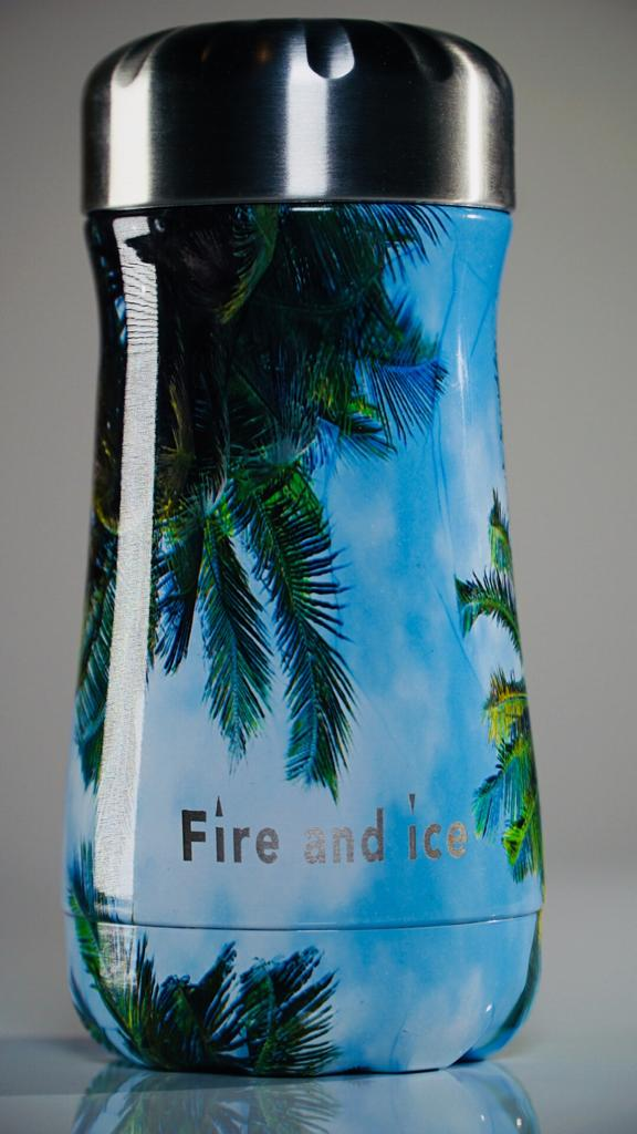 Palm Beach - Fire and Ice bottles. Reusable bottle. BPA free. cool designs