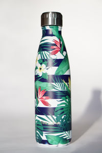 Banded Palm - Fire and Ice bottles. Reusable bottle. BPA free. cool designs