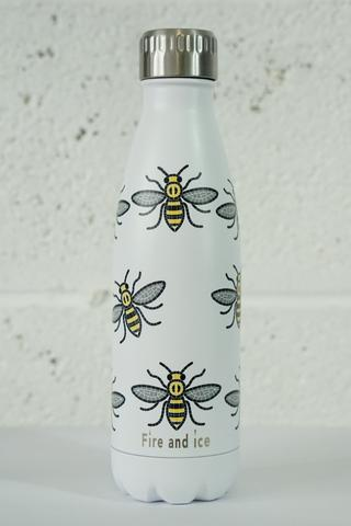 Bee Happy - Fire and Ice bottles. Reusable bottle. BPA free. cool designs