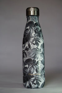 Black Palms - Fire and Ice bottles. Reusable bottle. BPA free. cool designs