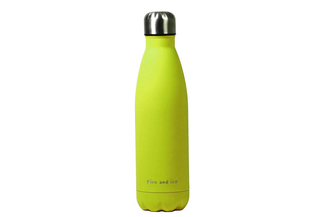 Citrus - Fire and Ice bottles. Reusable bottle. BPA free. cool designs