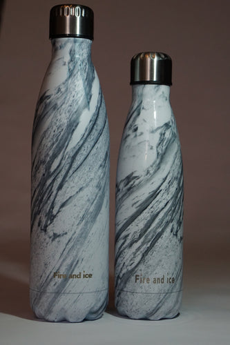 Carrara - Fire and Ice bottles. Reusable bottle. BPA free. cool designs