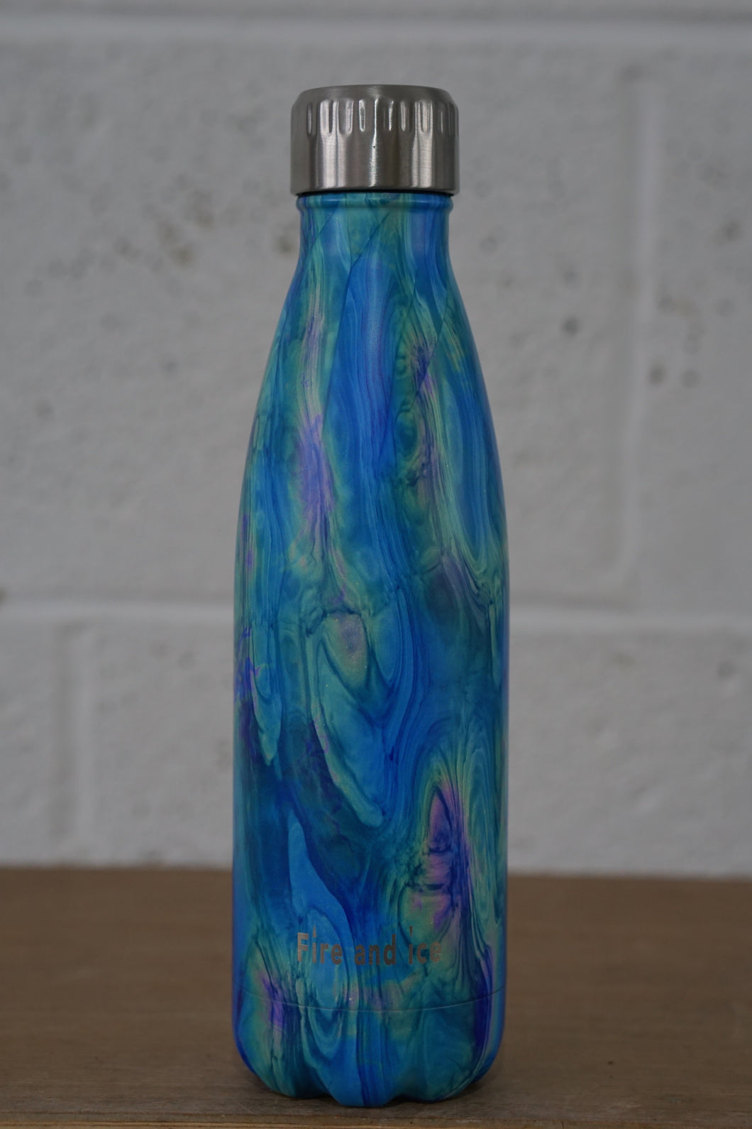 Petrol Refraction - Fire and Ice bottles. Reusable bottle. BPA free. cool designs