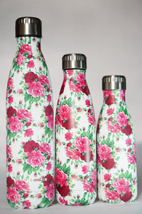 English Roses - Fire and Ice bottles. Reusable bottle. BPA free. cool designs