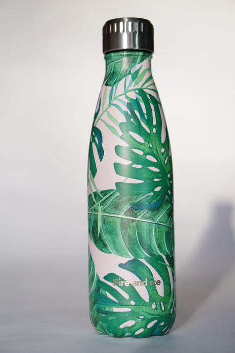 Palms - Fire and Ice bottles. Reusable bottle. BPA free. cool designs