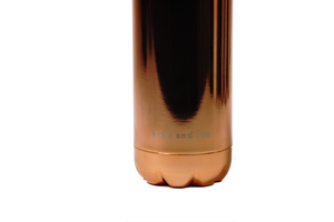 Rose Gold - Fire and Ice bottles. Reusable bottle. BPA free. cool designs