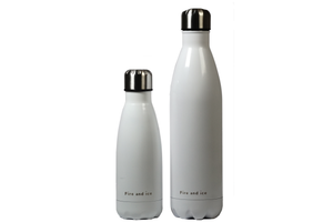 Snow White - Fire and Ice bottles. Reusable bottle. BPA free. cool designs