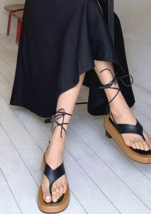 Holly Strappy Platform (Pre-order)