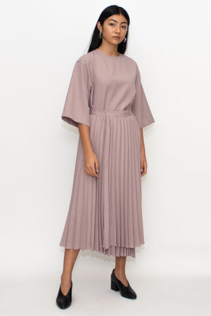 Tuscany Pleats Top and Skirt Set