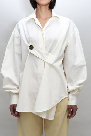 Off-White Oversized Button Detail Shirt